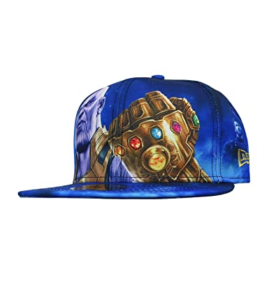 New Era Avengers Infinity War Thanos 59Fifty Fitted Hat- 8  Amazon ... 273222cd744