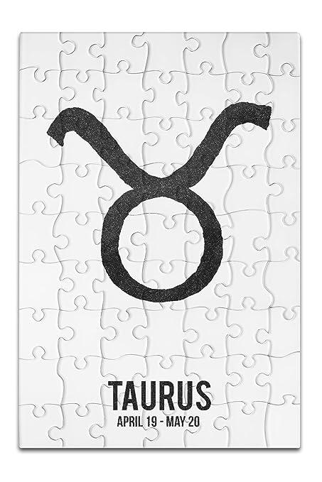 Amazon Taurus Astrology Zodiac Symbol Ink Drawing 8x12