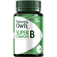 Nature's Own Super B Complex - Assists in Energy Production - Supports Immunity, Heart & Nervous System
