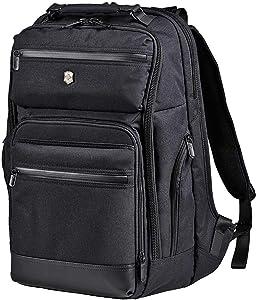 Victorinox Architecture Urban Rath Laptop Backpack, Black, 18.1-inch