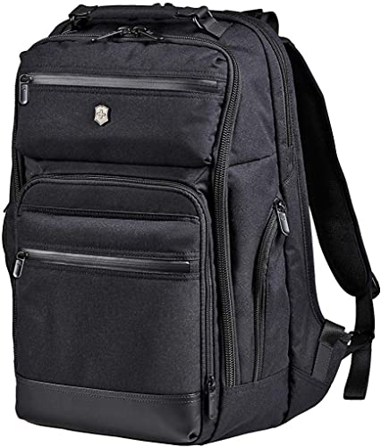 Victorinox Architecture Urban Rath Laptop Backpack, Black, 18.1-inch