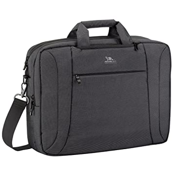 Amazon.com: Rivacase 16 inch Convertible Laptop Bag/Backpack for ...
