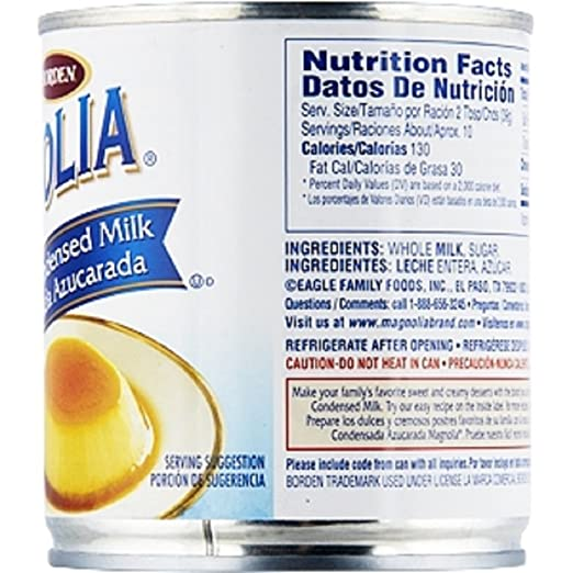 Amazon.com : Borden, Magnolia, Sweetened Condensed Milk, 14oz Can ...