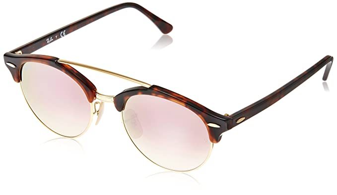 82685b4b16 Ray-Ban Mirrored Phantos Men's Sunglasses - (0RB4346990/7O51|51|Copper
