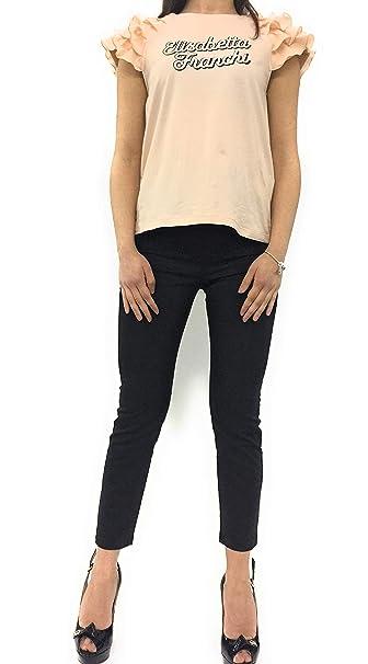 it Franchit Corta rosaAmazon Shirt Elisabetta A Manica 453RAjL