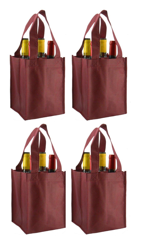 Four Bottle Wine Bag - 6
