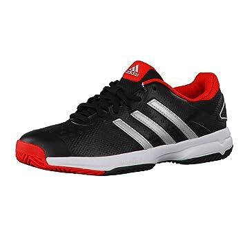 huge discount 8805a c548b adidas Barricade Team 4 Junior Tennis Shoes (BlackRed) - EU 40 - UK 6,5  Amazon.co.uk Sports  Outdoors