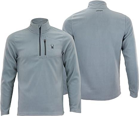 Spyder Mens Transport 1//4 Zip Pullover Sweatshirt Color Variation