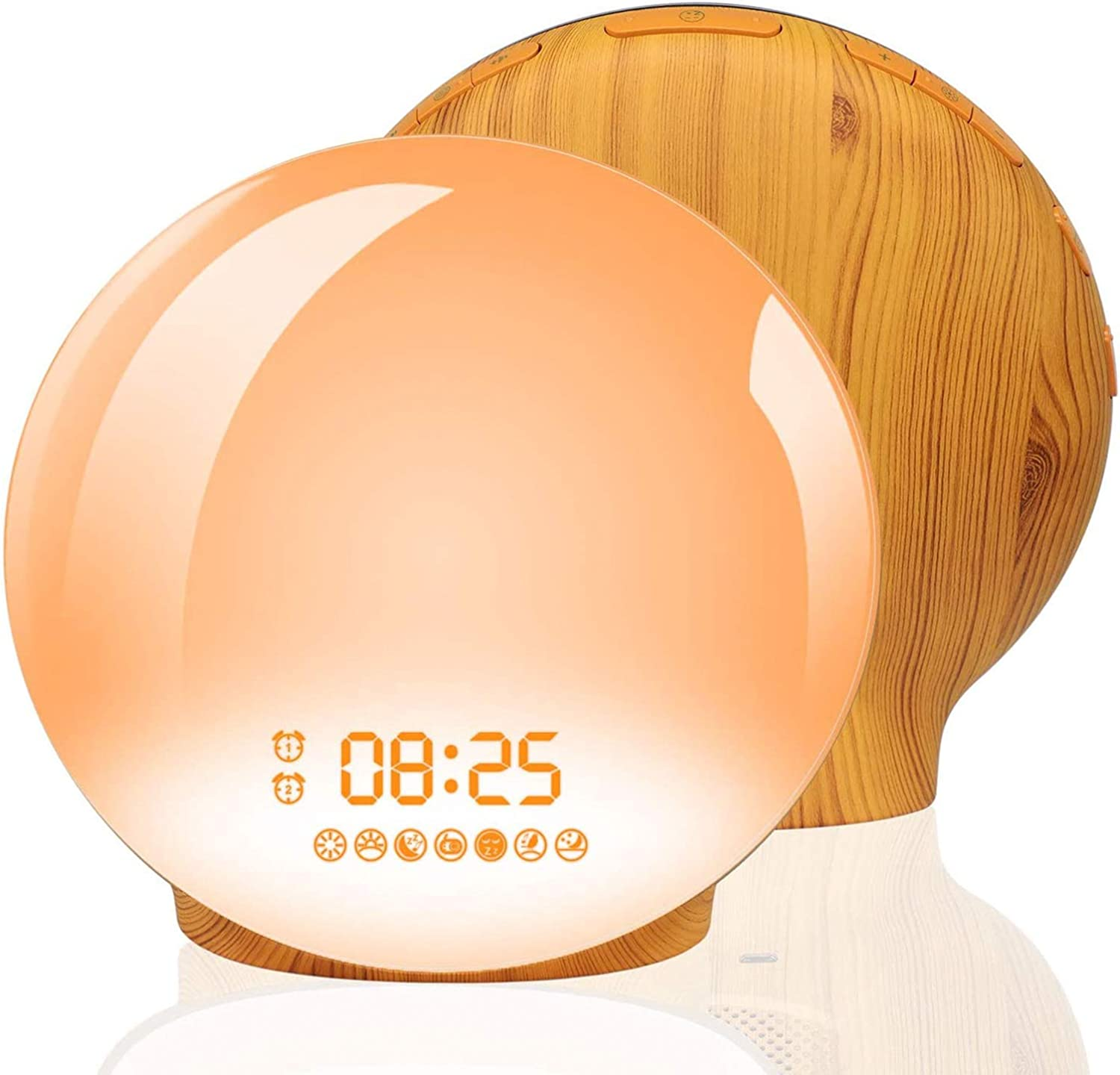 Image result for Homagical Sunrise Alarm Clock with Sunset Simulation