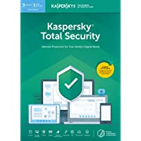 Kaspersky Total Security 2020 | 3 Devices | 1 Year | Antivirus, Secure VPN and Password Manager Included | PC/Mac/Android | Online Code
