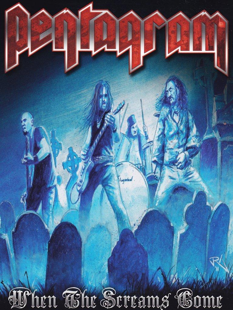DVD : Pentagram - When The Screams Come (DVD)