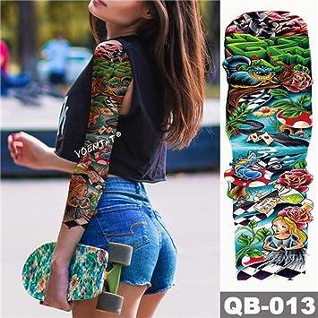 Tatuaje de manga de brazo grande Tatuaje de ola japonesa Etiqueta ...