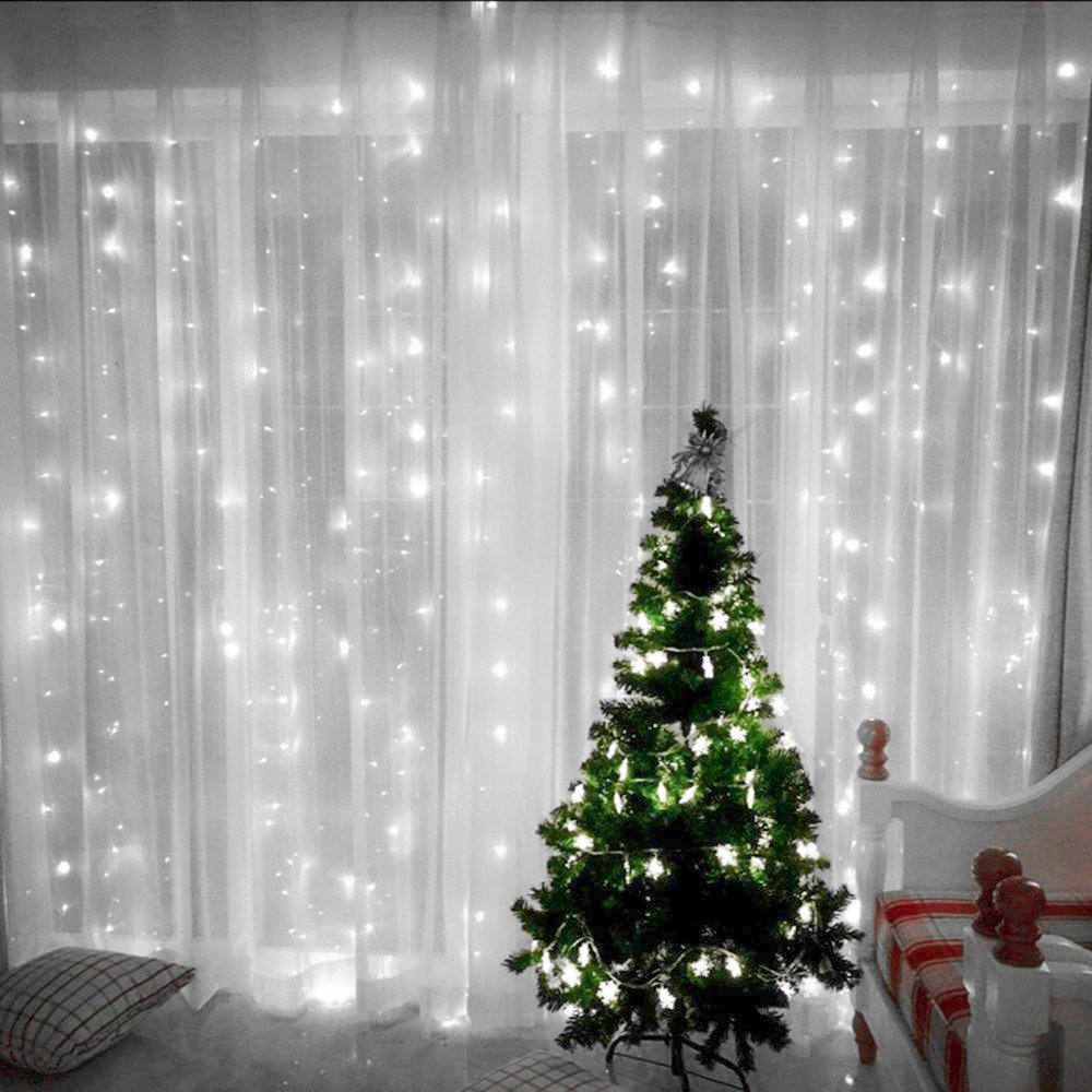 CreativeCase Party String Lights, 300 LEDS 9.84ftx9.84ft with 8 Modes String Fairy Starry Stars for Wedding Party Home Patio Lawn Garden Bedroom Outdoor Indoor Lights,