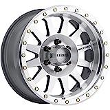 "Method Race Wheels 304 Double Standard Machined/Clear Coat 17x8.5"" 6x5.5"", 0mm offset 4.75"" Backspace, MR30478560300"