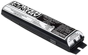 Lithonia Lighting PSQ500QD MVOLT M12 Power Sentry Quick Disconnect Emergency Fluorescent Battery Packs, 227 Volts, 3 Watts, Black