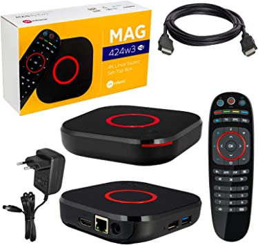 MAG 424 Original Infomir & HB-DIGITAL 4K IPTV Set Top Box ...