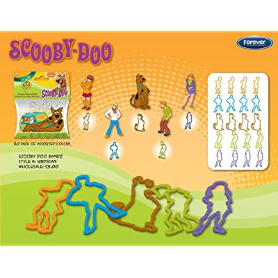 Scooby Doo Logo Bandz Bracelets: Sports & Outdoors