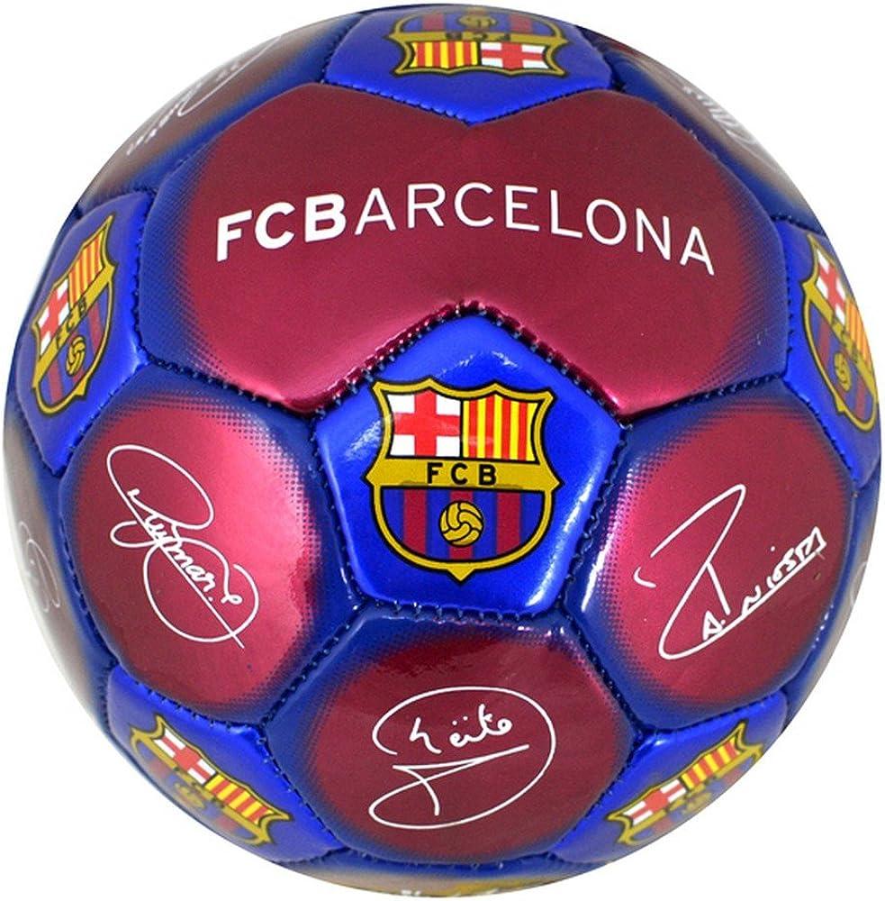 Balón de fútbol de fútbol FC Barcelona Mini - Firma: Amazon.es ...