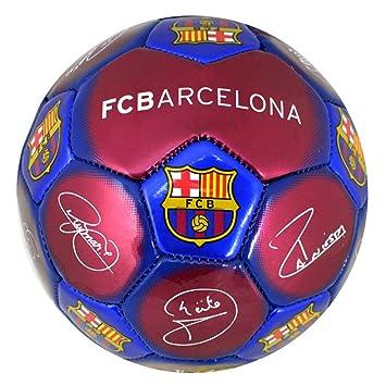 Barcelona Barca Firma pequeño Mini Fútbol Escudo metálico tamaño 1 ...
