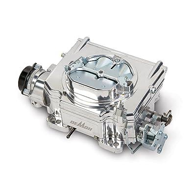 Demon 1903 750 CFM Ball Burnished Aluminum Street Demon Carburetor: Automotive