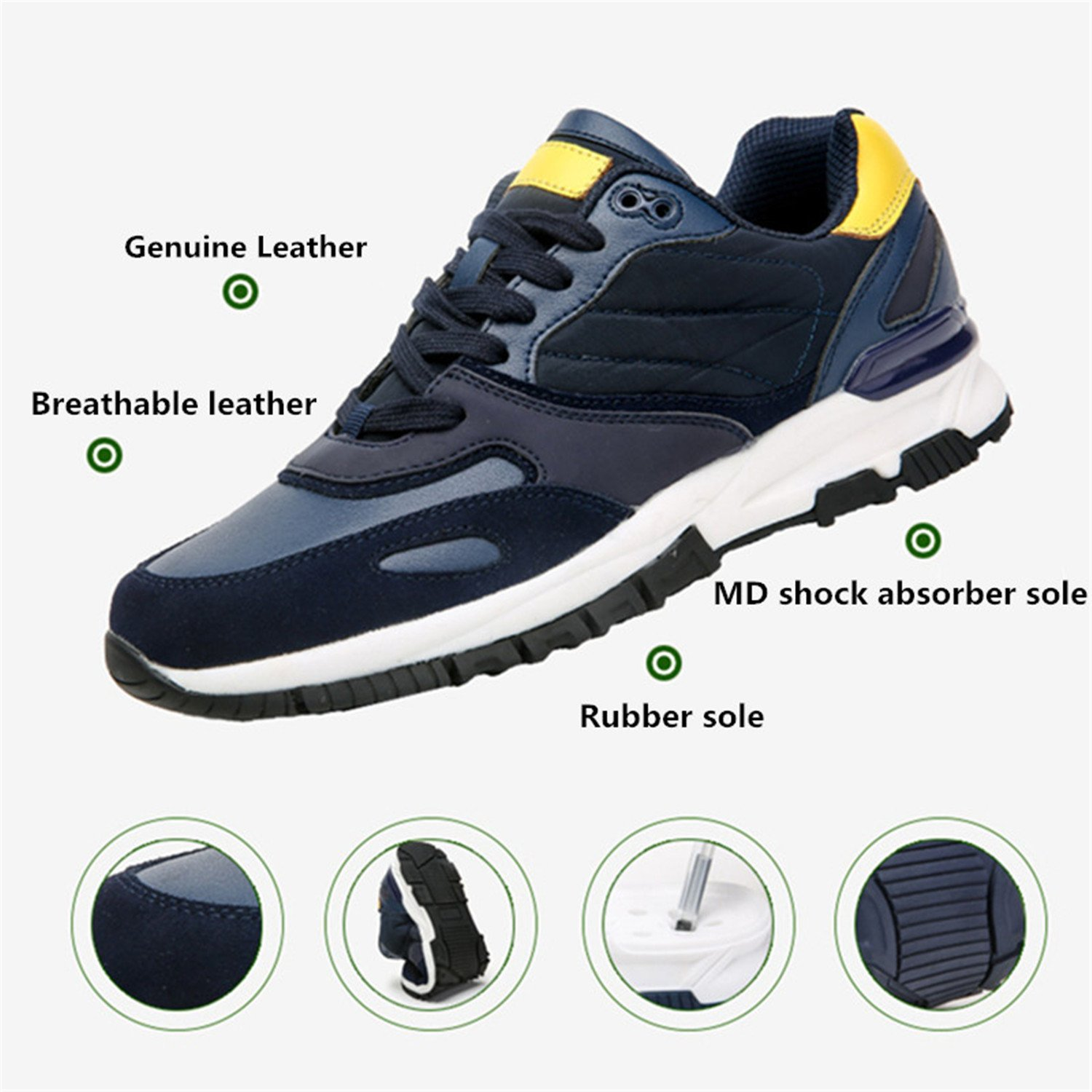 Amazon.com | Sneakers Sport Sneaker Mens Shoe for Men Zapatillas Free Run Wide Low Rubber Breathable | Fashion Sneakers
