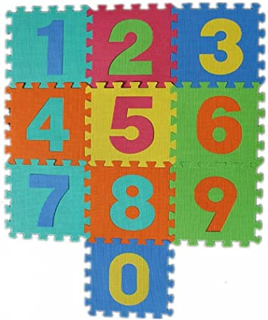 Myesha Toys Numbers Mat (10 Piece)