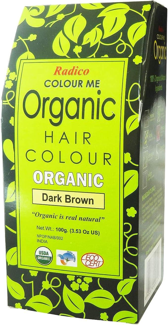 Radico Colour Me Organic (Dark Brown) by Radico