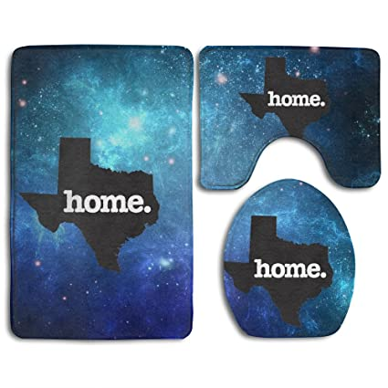 Marvelous Amazon Com Texas Home Skidproof Toilet Seat Cover Bath Mat Unemploymentrelief Wooden Chair Designs For Living Room Unemploymentrelieforg