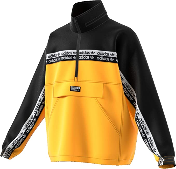 adidas Vocal Neon TT Windbreaker, orange, l: