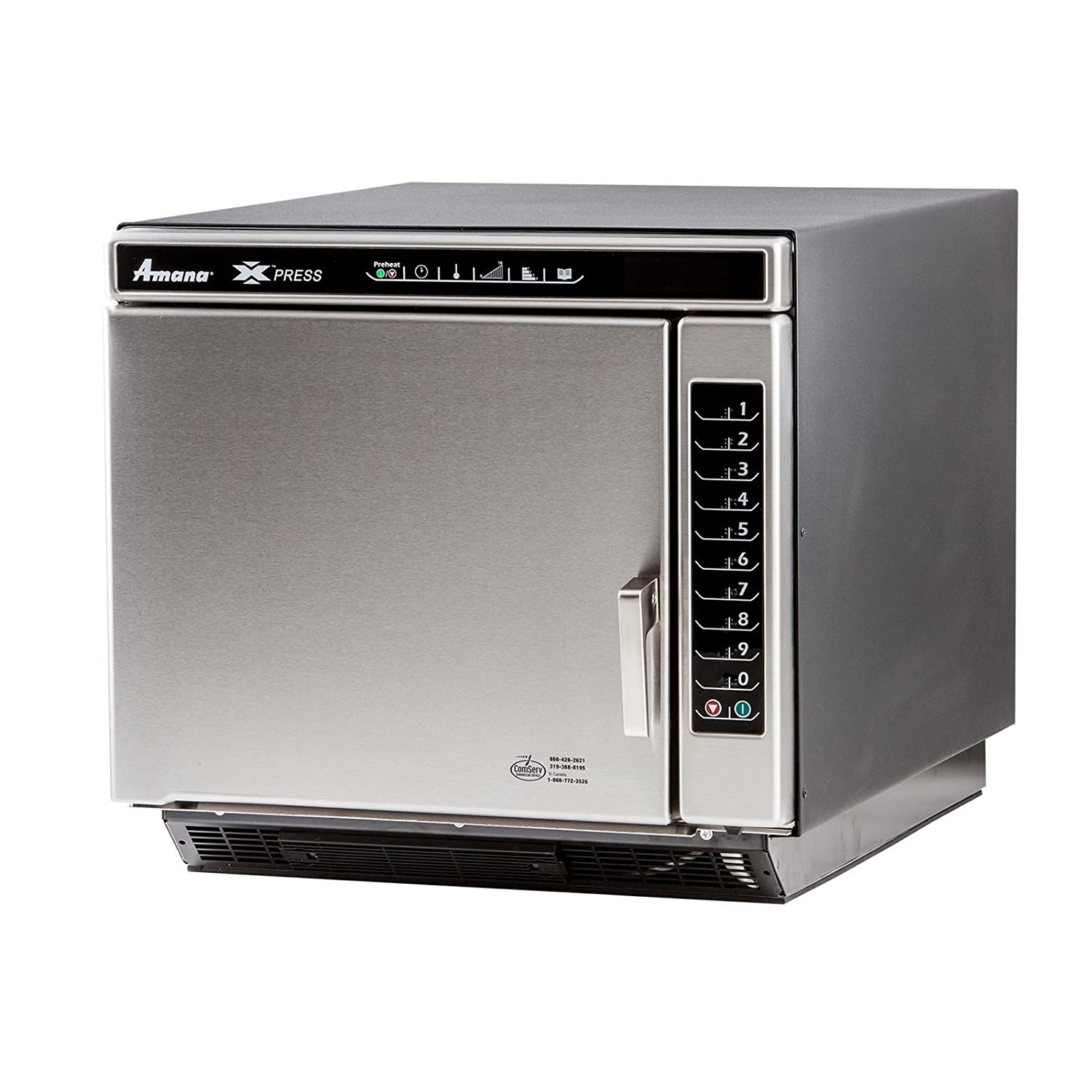 1.2cf Jetwave High Speed Ventless Microwave Oven 5300 Watts