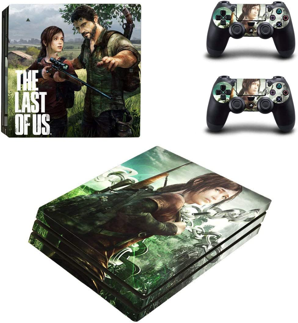 PlayStation 4 Controlador Pro + 2 pegatinas protectores Set – The Last of Us (2)/PS4 P: Amazon.es: Juguetes y juegos