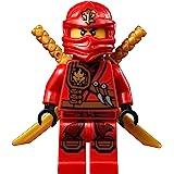 LEGO® Ninjago Minifigure - Kai Zukin Robe (Red Ninja) with Dual Gold Swords (70745)