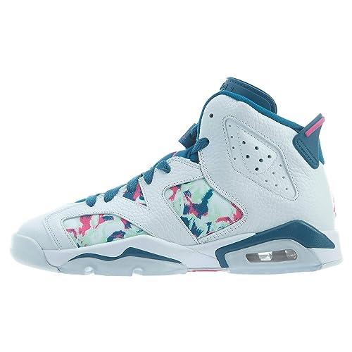 Jordan 6 Retro GS, Zapatillas de Deporte para Mujer: Amazon