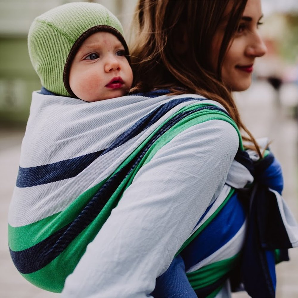 DIDYMOS Woven Wrap Baby Carrier Marie (Organic Cotton), Size 5 (420 cm) by Didymos