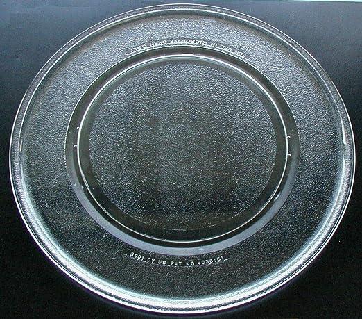 Amazon.com: Lobo de vidrio microondas placa/bandeja 16 ...