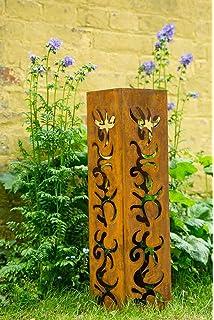 Metall Ständer für Pflanzschale Schale D.54-55 Edelrost Rost Blumenschale