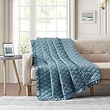 SleepyNights EGYPTIAN COTTON BABY COT BED BEDSPREAD//DUVET 2.5 TOG//THROW//BLANKET SKY BLUE