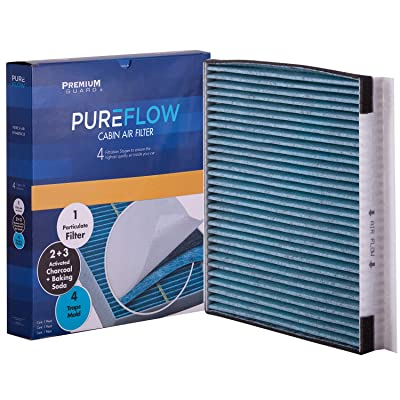 Pureflow Cabin Air Filter PC6067X| Fits 2020-19 Genesis G80, G90, 2009-16 Hyundai Genesis, 2011-16 Equus, 2020 Kia Stinger: Automotive