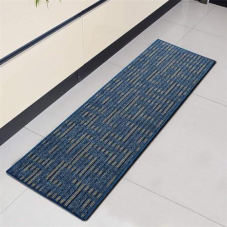 Ommda Küchen Läufer Teppiche Flur Modern Streifen Antiskid ...