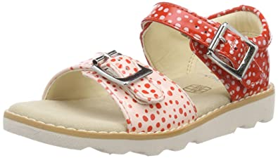 9acd4ea884624 Clarks Girls' Crown Bloom T Sling Back Sandals: Amazon.co.uk: Shoes ...