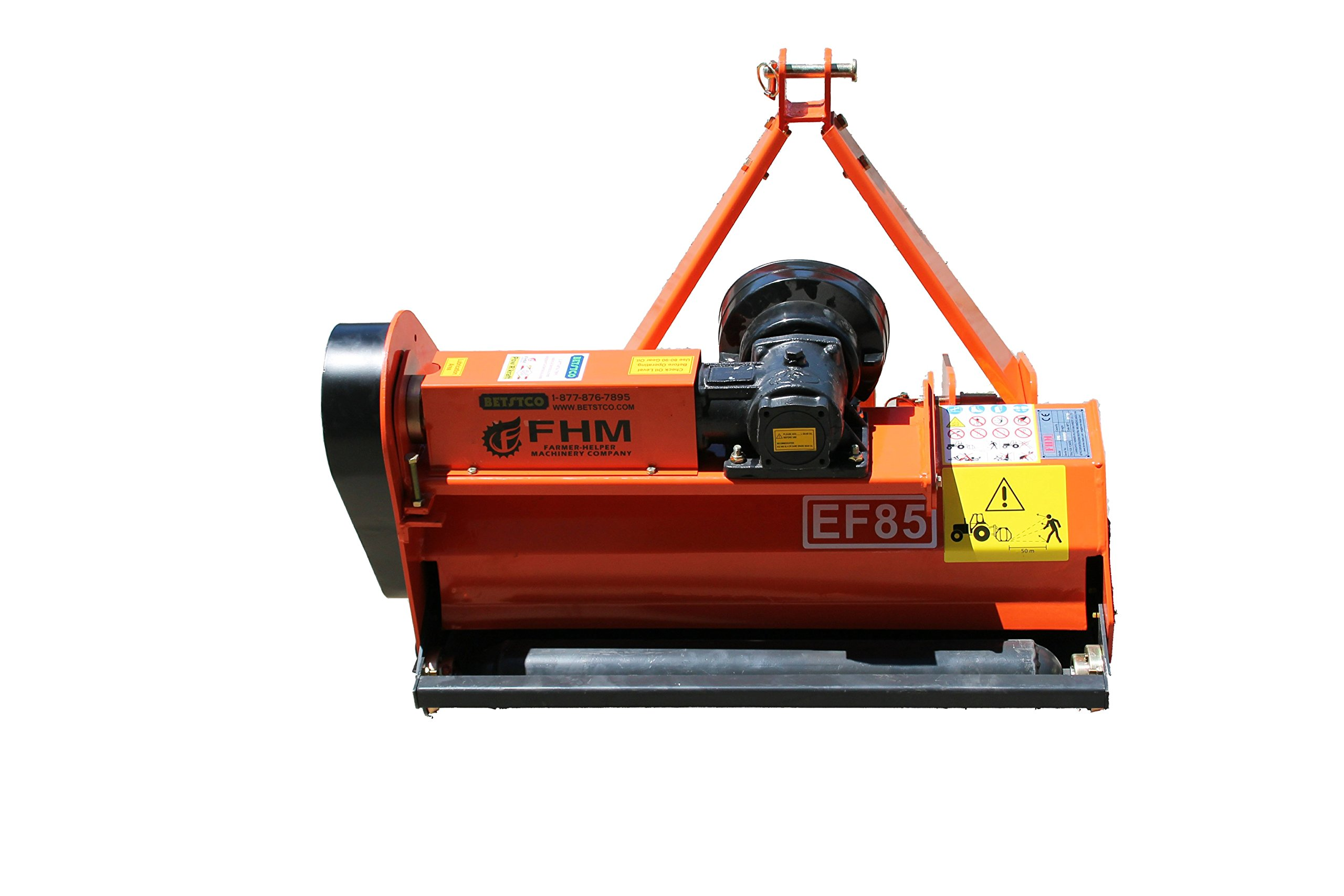 Farmer Helper Flail Mower 33'' Cat.I 3pt 15HP+ Rating (FH-EF85) Requires a Tractor. Not a standalone Unit.