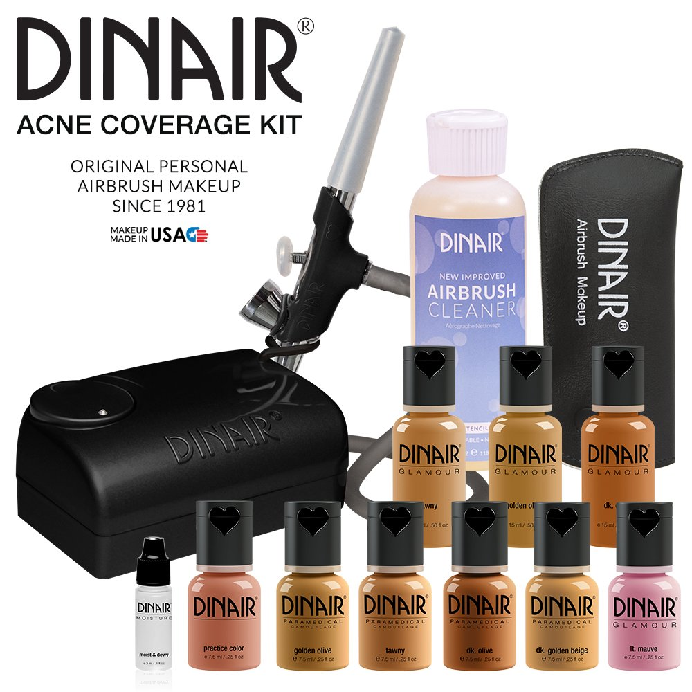 Dinair Airbrush Makeup acne coverage