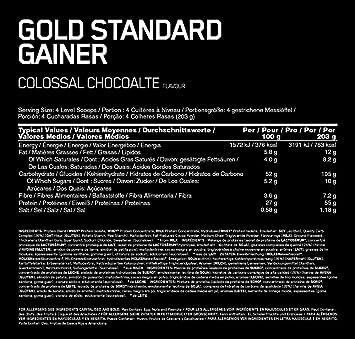 Optimum Nutri Gold Standard Chocolate de suero 1,67 kg, 1,67 kg 296134