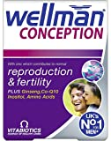 Vitabiotics Wellman Conception Tablets 30 Tablets (Pack of 2)