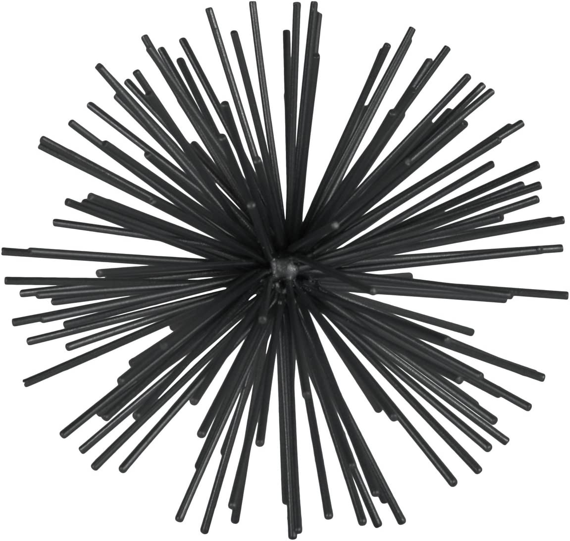 Urban Trends 25871Metal Coated FinishUrban Trends Collection Design Home Sculpture Black 141[並行輸入]