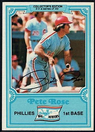 1984 Drakes Big Hitters 33-card Baseball Set  Pete Rose