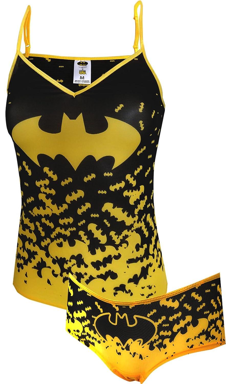 DC Comics Batman Cami/Panty Mesh Set