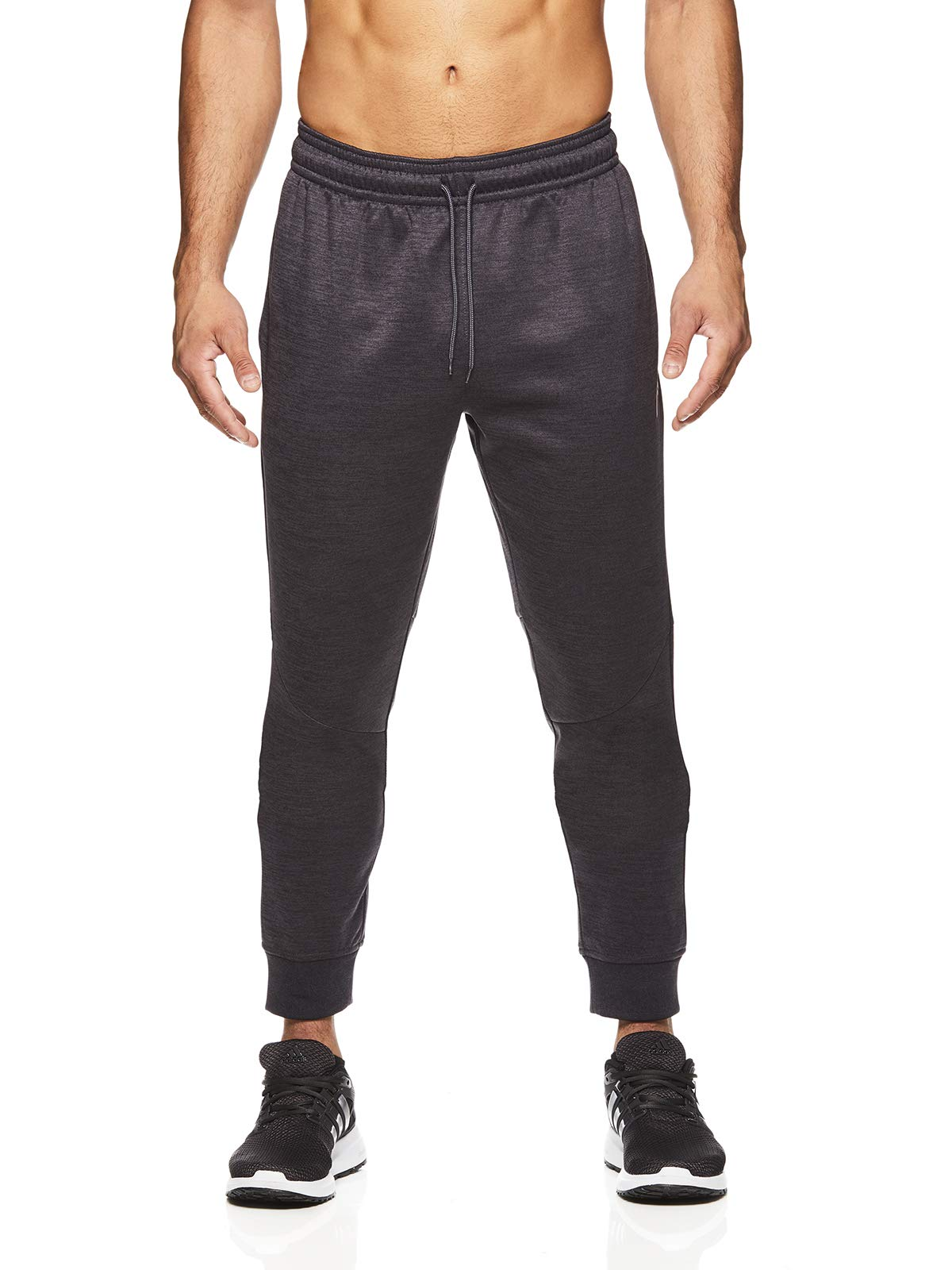 HEAD Men's Jogger Activewear Pants - Performance Workout & Running Sweatpants - Pro Nine Iron Heather, Small