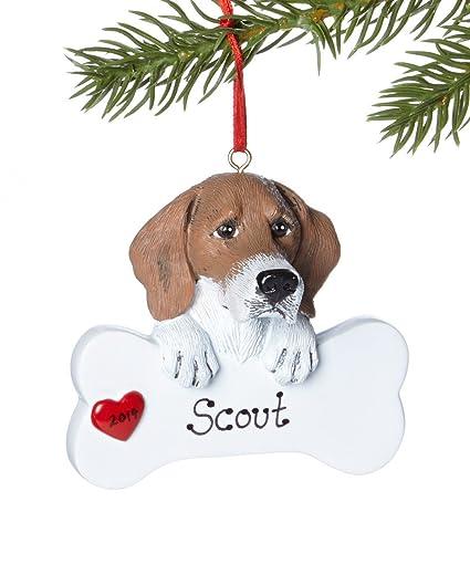 Personalized Pet Beagle Dog Christmas Ornament - Amazon.com: Personalized Pet Beagle Dog Christmas Ornament: Home