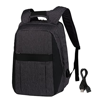f619b0101073 Vbiger Laptop Backpack with Large-capacity Detachable Backpack Travel  Backpack with USB Charging Function for Men Women